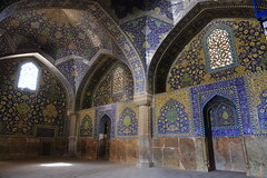 Inside the Mosque (deus77) Tags: shah mosque esfahan isfahan interior inside iran architercure persian