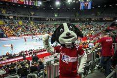 European Men's Handball Championship (RIEDEL Communications) Tags: riedel riedelcommunications communications live sports production broadcast croatel mediornet european men mens handball championship croatia