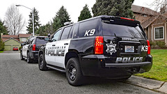 Snohomish County Sheriff's Office K-9 Unit Chevrolet Tahoe PPVs (andrewkim101) Tags: snohomish county sheriffs office k9 unit chevrolet tahoe ppvs 2014 2015 police department mill creek wa washington state