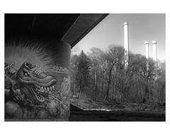 (bruXella & bruXellus) Tags: graffiti urbanart streetart brudermühlbrücke münchen munich germany allemagne deutschland leicax1