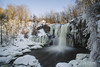 Winter at Akron Falls (wilbias) Tags: akron falls waterfall western new york state winter snow ice long exposure