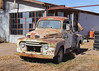 035/365 Old Ford (Helen Orozco) Tags: bullethole ford itsaffordjohn 1952 sanacacia 35365 rip 2018365