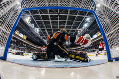 """Kansas City Mavericks vs. Cincinnati Cyclones, February 3, 2018, Silverstein Eye Centers Arena, Independence, Missouri.  Photo: © John Howe / Howe Creative Photography, all rights reserved 2018. • <a style=""""font-size:0.8em;"""" href=""""http://www.flickr.com/photos/134016632@N02/40086505162/"""" target=""""_blank"""">View on Flickr</a>"""