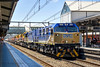NREc Gen Sets in action (Tom Marschall) Tags: 1201 1202 1200 brm brm001 brm002 49 4911 4347 ssr grain train hornsby nsw new south wales australia rail railroad freight goods wheat export travel station sydney trains canon 1000d