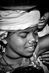 A young women of the Dhurwa tribe (Ditisit) Tags: india adivasi orissa tribe portrait people minority dhurwa