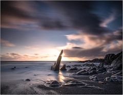 Ayrmer Cove South Devon England (paulbullen123) Tags: sea water rock 2ayrmer cove southdevon beach 30sec distinguishedlongexposure g sunset seascape