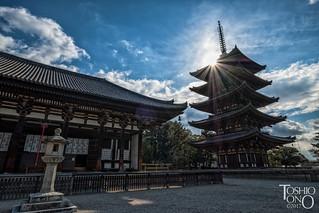 Kofukuji,Nara,Japan