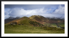 Y Grib from Castell Dinas (Craig Savery) Tags: blackmountains breconbeacons wales mountains snowcapped