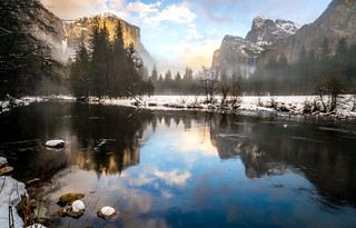 Yosemite Winter Fine Art Landscapes! Sony A7RII yosemite National Park Winter Snow! Dr. Elliot McGucken Fine Art Landscape Photography
