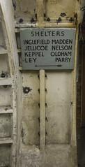 Shelters sign : Clapham South Deep Shelter (Bob the Binman) Tags: nikon d7100 hiddenlondon londontransport londonunderground lul underground tunnels deepshelter ww2 blitz airraidshelter shelter secret london claphamsouth northernline londonist architecture