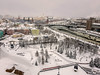 Brids Eye Veiw Of Moscow (Tony_Brasier) Tags: moskva moscow russia ru icecold river church cars buildings sky snow lovely location people peacefull photos play fun flickr samsung s7 loving lights love sunday