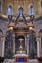 Cathedral Sanctuary II ahdr (Greg Riekens) Tags: religion religious usa stpaulcathedral cathedral catholic nikond500 sanctuary architecture stpaul midwest nikkor minnesota