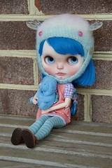 Georgie (Chassy Cat) Tags: littlematildaatelier simply sparkly spark fbl blythe custom doll fantasy hair