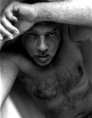 selfie bw (marcostetter) Tags: bathtub wet hairychest hairy naked selfie sexy sexyman fashion water body bodyhair