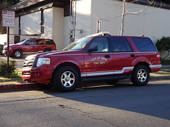 Davis Fire Department Ford Expedition with Tahoe in background (Caleb O.) Tags: