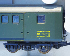 RD15130.  Lima EW II Gepäckwagen. (Ron Fisher) Tags: sbbcffffs modelrailway modelleisenbahn railwaymodels lima hogauge ho swissrailways