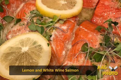 """Lemon and White Wine Salmon • <a style=""""font-size:0.8em;"""" href=""""http://www.flickr.com/photos/159796538@N03/40420683732/"""" target=""""_blank"""">View on Flickr</a>"""