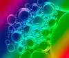 Bubble Rainbow (MikeBoyes) Tags: macromondays lessthananinch bubbles colour rainbow macro