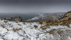 Nevada pano Salinas (@pabloralonso) Tags: nieve snow castrillon winter invierno asturias