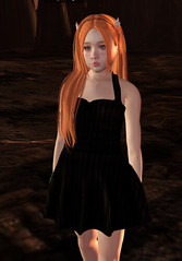 Lyla in the Night (Laylani Marie) Tags: lyla lylabug truth truthhair moremore cuties pandacornia catwa catya avil teen tween hazy horns ginger lucia dress