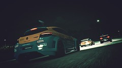 U C, I'm 2 Busy Catching Up (polyneutron) Tags: photography renault rally motorsport projectcars pcars pc automotive camera night