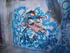 335 (en-ri) Tags: rottame freak azzurro giallo rosso ragazzo guy boy wrier torino wall muro graffiti writing parco dora