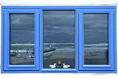 The window of the Fisherman (gnterchristian.thomsen) Tags: fensr fenster window fisherman fischer strand nordsee