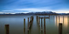 Calm lake (Rico the noob) Tags: dof d850 2470mm nature reflection mountains outdoor lake 2470mmf28 clouds longexposure 2017 chiemsee urban urbanexploration panorama sky published landscape water sunrise germany