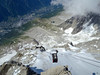 Arrival of the Téléphérique de Aiguille du Midi. Chamonix. (elsa11) Tags: aiguilledumidi chamonix pitonnord téléphériquedeaiguilledumidi montblancmassif lespelerins glacier gletscher gletsjer alps alpen mountains france frankrijk hautesavoie rhonealps cablecar lacbleu explore
