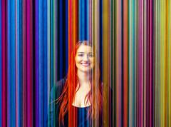 Silly String. (Monochrome Adventures) Tags: sonya7ii voigtlander 40mm nokton lines colours art people portrait 2018 dof raw