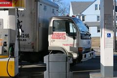 Huh? (caboose_rodeo) Tags: 5218 sign truck deliverytruck messedup somebodymessedup seeninmilfordct