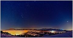Orion rising (Karl Glinsner) Tags: österreich austria alpen alps nachthimmel nightsky nacht night himmel sky sterne stars schnee winter snow