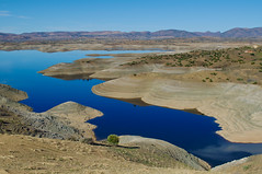 Middle Atlas, Kingdom of Morocco (Bokeh & Travel) Tags: atlas mountain lake lakeshore blue landscape morocco kingdomofmorocco africa beautiful nature colorful