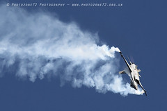6521 Belgian F16 Display (photozone72) Tags: eastbourne airshows aircraft airshow aviation f16 belgianairforce belgian canon canon7dmk2 canon100400mm 7dmk2 jet