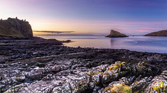 Day Done at Duntulm (Stoates-Findhorn) Tags: 2018 castle tulmisland ruin sunset headland le shore westernisles portduntulm scotland skye twilight island tulmbay duntulm isleofskye littleminch sea