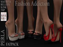 PERLA SHOES (Owner Fashion Addiction) Tags: shoes scarpe belleza maitreya slink tmp fashionaddiction secondlife hourglass physique freya venus isis