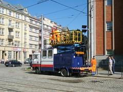 Olomouc tower wagon (johnzebedee) Tags: transport publictransport towerwagon olomouc czechrepublic johnzebedee