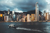 Hong Kong skyline in the morning over Victoria Harbour, Hong Kong China (Patrick Foto ;)) Tags: architecture asia asian background bay beautiful beauty blue building business central china chinese city cityscape cloudy colorful day downtown famous ferry harbor harbour hato holiday hong hongkong international kong landmark landscape metropolis modern morning office peak port rain scene sea sky skyline skyscraper tower travel typhoon urban victoria view water kowloon hk