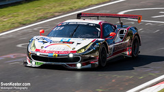 Nürburgring 24H 2017 - The Italian job (_RETSEK) Tags: 2017 24 24hoursofnürburgring 24hrs adac adaczurich24hourrace auto autorennen car d810 eifel endurance gt3 germany green greenhell grüne grünehölle hour hell hours hölle langstrecke may motion n24 n24h nordschleife nürburgring race racing rennen sports sportscar sven vehicle zurich zurichsvenkestercom nürburg rheinlandpfalz duitsland de svenkestercom kester motor sport photography motorsport wochenspiegel team monschau rinaldi 488 ferrari