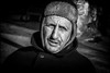 Froid aux oreilles!! / Cold ears!! (vedebe) Tags: humain human people homme rue street city ville urbain urban portraits noiretblanc netb nb bw monochrome vent provence