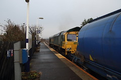 66558 Redcar East, Teeside (Paul Emma) Tags: uk england redcareast redcar teeside railway railroad dieseltrain train class66 66558