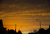 Hurricane Sky (brenk13) Tags: brenna nikon 5200 18250 sky yellow silhouette landscape hurricane houses clouds weather
