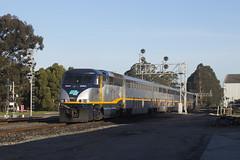 720 - 66th Street (imartin92) Tags: emeryville california amtrak passenger train capitolcorridor railroad emd f59phi locomotive