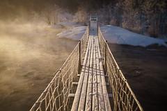 Frosty bridge (Helena Normark) Tags: frozenbridge frost frozen winter bridge nidelven nidelva trondheim sørtrøndelag norway norge sonyalpha7 a7 35mm lensbaby burnside35 lensbabyburnside35 lensbabylove seeinanewway