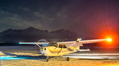 OM-TLS TLS air CESSNA C-172 S (airliners.sk, o.z.) Tags: night airport poprad tatry popradtatry tat lztt lztttat airplane cessna c175s omtls tlsair airlinerssk