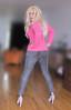 Be honest: does my....? (Irene Nyman) Tags: irenenyman dutch crossdress crossdresser irene nyman tranny tgirl transgirl stilettoes pumps legs blueeyes jeans cutie babe blonde xdresser mtf tights pantyhose transvestite cute holland highheels makeup leggings travestiet travestie xdress cd tv hips bum behind pinksweater curves