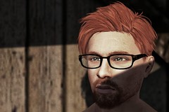 Study for a realistic portrait 4 (Ricco Saenz) Tags: sl secondlife portrait realism
