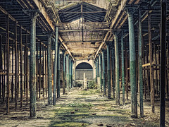 Way Past Its Prime (Artypixall) Tags: cuba havana building interior columns dilapidated distressed ruin getty