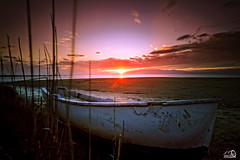 Varada (JesusLobato) Tags: paisaje atardecer atardeceres barcas beach largaexposicion degradado deltadelebro delta ebro filtros lucroit nd10 nikond3100