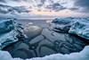 Frozen Shore (M.M.Kallio) Tags: seascape landscape finland kallo sea ice winter sunset scenery clouds bluemoment cold dark fineart print voigtländersuperwideheliar15mmf45